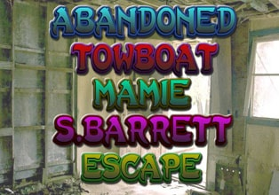 Abandoned Towboat Mamie S. Barrett Escape