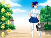 Anime School Girl Dress Up