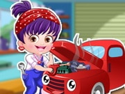 Baby Hazel Mechanic Dressup