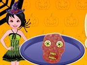 Cooking Halloween Zombie Meatloaf