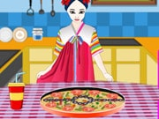 Cooking Korean Pizza