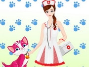 Cute Veterinarian