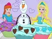 Cutezee Cooking Academy: Elsa Cupcakes
