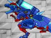 Dino Robot Tyrano And Tricera