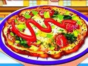 Eggs Florentine Pizza