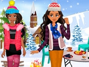 Elena And Moana Outdoor Winter Party
