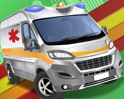 Emergency Van Jigsaw Puzzle