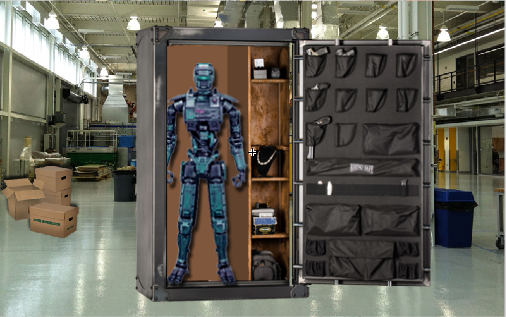 Escape Robot : 1 Gen