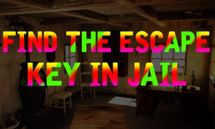 Find The Escape Key In Jail