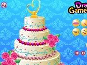 Floral Wedding Cake