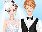 French Style Wedding Dress Up