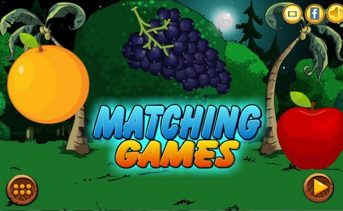 Fruits Matching Games