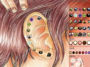 Glamorous Ear Piercing