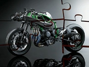 Kawasaki Supercharged Bike