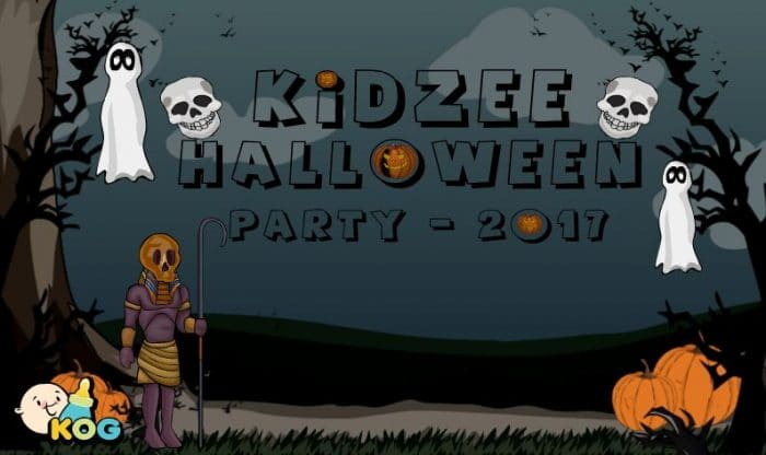Kidzee Halloween Party 2017