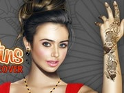Lily Collins Makeover
