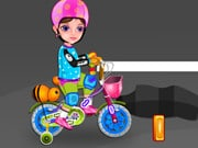Little Girl First Bike