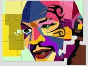 Mike Tyson Art Puzzle