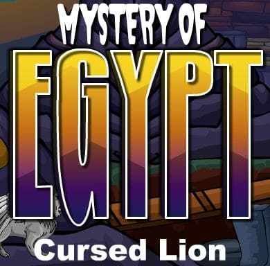 Mystery Of Egypt Cursed Lion
