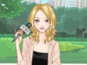 News Report Girl