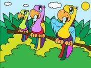 Parrot Adventure Coloring