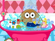 Pou Girl Bathing Day