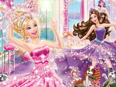 Princess Barbie Puzzle Story