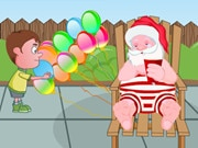 Santa And The Naughty Boy