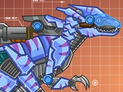 Steel Dino Toy: mechanic Raptors