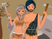 Stone Age Couple Dress Up