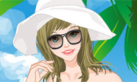 Swimming Pool Girl Dress Up