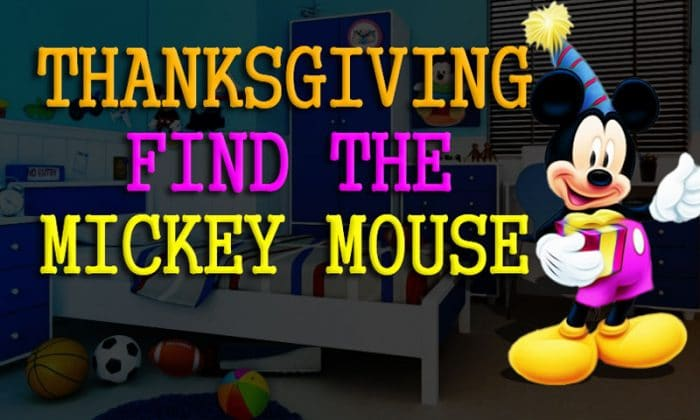 Thanksgiving Find The Mickey Mouse