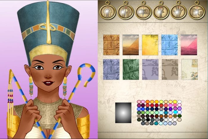 World history Avatar Creator Ancient Egypt