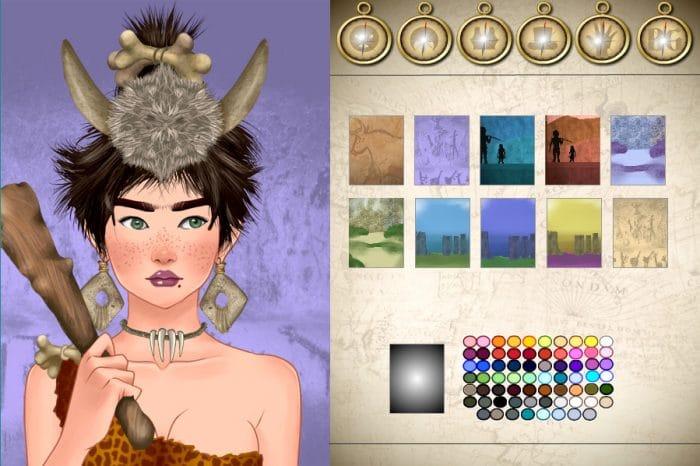 World history Avatar Creator Prehistoric