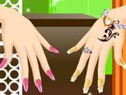 Zendaya's Nails Makeover