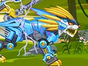 Zoo Robot:lion