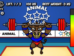 Animal Olympics – Weight Lifting