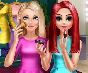 BFFs Makeup Time