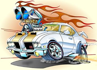 Cartoon Cars Hidden Star