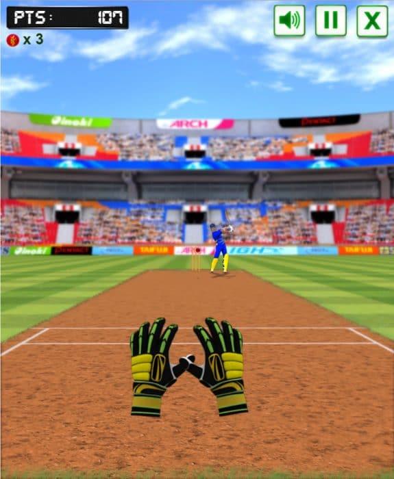 Cricket Fielder Challenge Game