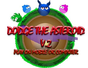 Dodge the Asteroid Wild World Platform