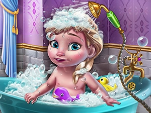 Ice Queen Baby Shower Fun