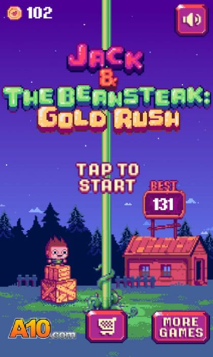 Jack And The Beansteak Gold Rush