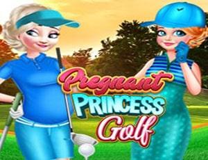 Pregnant Princess Golfs
