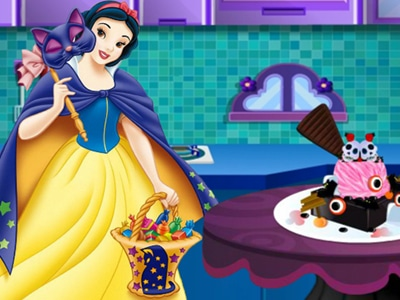 Princess Halloween Ice Cream