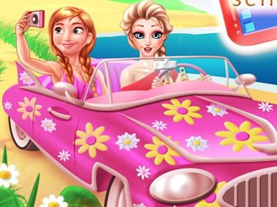 Princesses Road Trip Fun