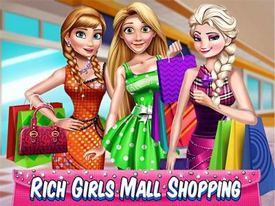 Rich Girls Mall Shopping