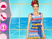 Helen Colorful Stripes Dress