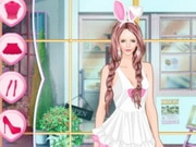 Helen Cute Easter Bunny Dress