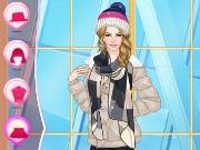 Helen Trendy Earflap Hat Dress